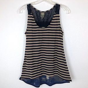 Anthropologie One September Double Side Tank
